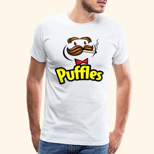 Puffles - Smoking Man - Men's Premium T-Shirt