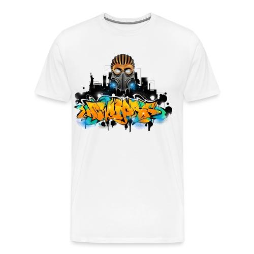 2.ezy - Design for New York Graffiti Color Logo - - Men's Premium T-Shirt