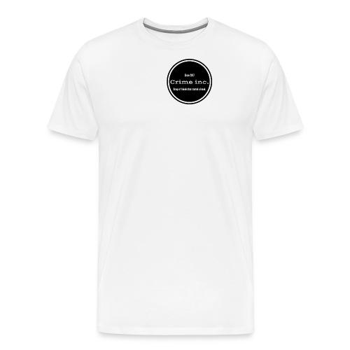 Crime Inc Small Design - Men's Premium T-Shirt