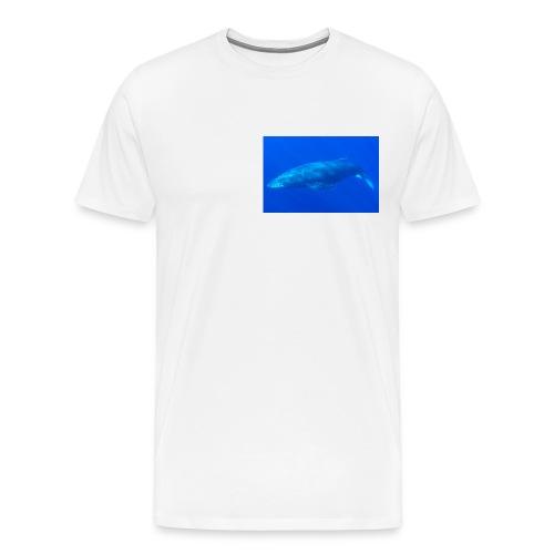 Sperm Whale In Ocean - Men's Premium T-Shirt