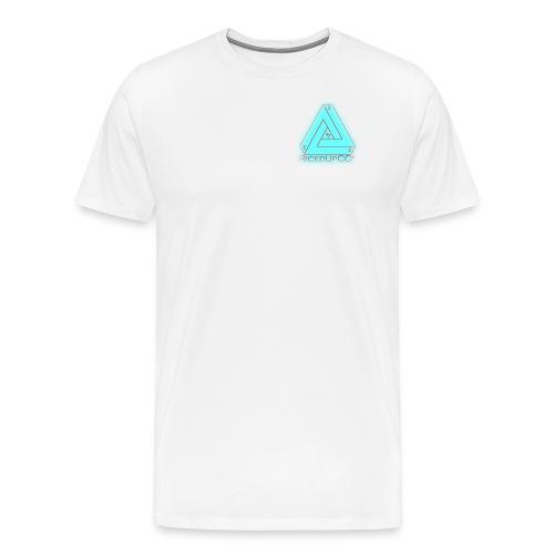 Original RicedUpCO Men's white shirt - Men's Premium T-Shirt