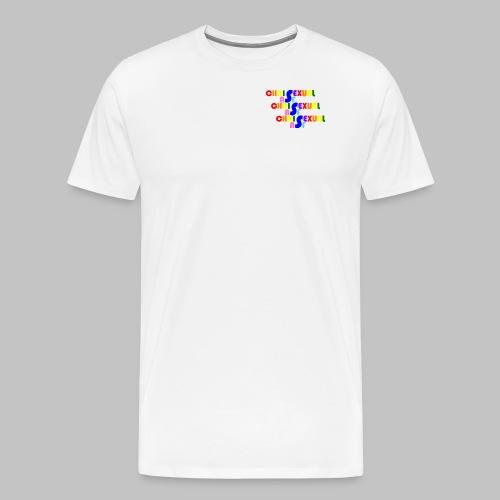 Chrisexual Trisexual - Men's Premium T-Shirt