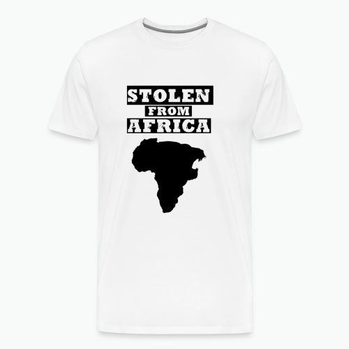 STOLEN FROM AFRICA LOGO - Men's Premium T-Shirt
