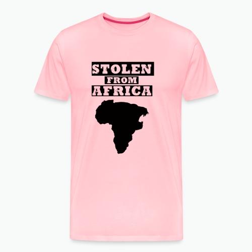 STOLEN FROM AFRICA LOGO - Men's Premium T-Shirt