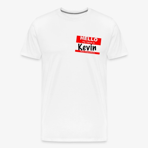 Kevin in sales - Men's Premium T-Shirt