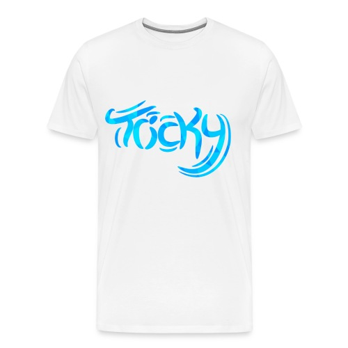 Tricky Design png - Men's Premium T-Shirt