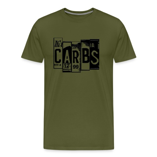 carbs shirt - Men's Premium T-Shirt