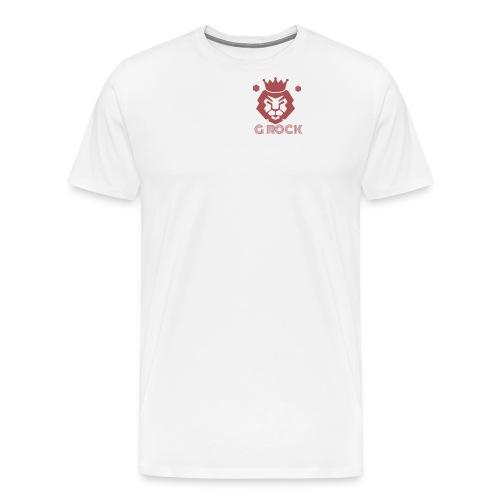 lion faced - Men's Premium T-Shirt