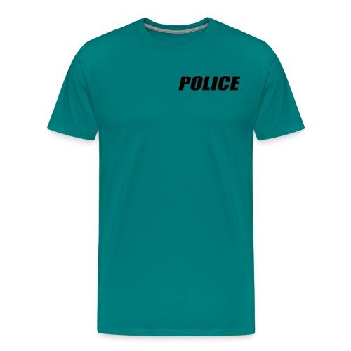 Police Black - Men's Premium T-Shirt