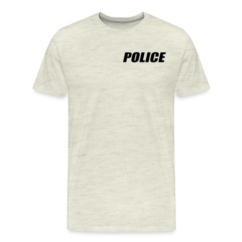 Police Black - Men's Premium T-Shirt