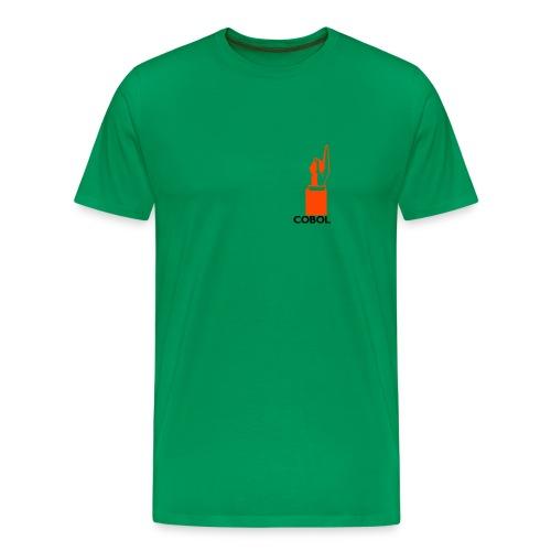 COBOL up - Men's Premium T-Shirt