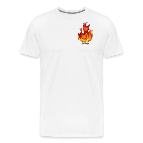 Scorchy Logo Black - Men's Premium T-Shirt