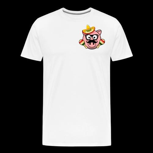 Senior Pig - Men's Premium T-Shirt