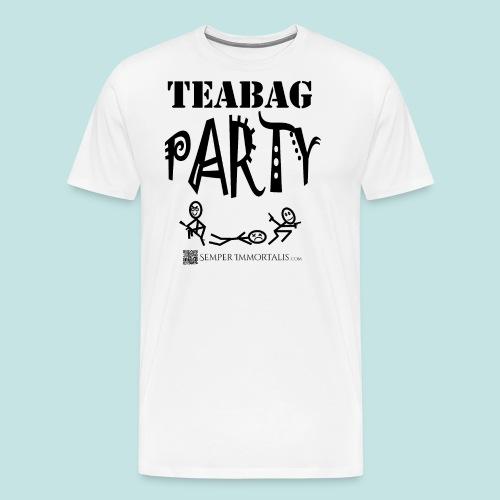 Teabag Party (black) - Men's Premium T-Shirt
