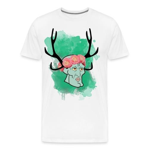 handsome squidward png - Men's Premium T-Shirt