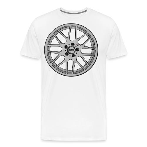 BBS M Wheel - Men's Premium T-Shirt