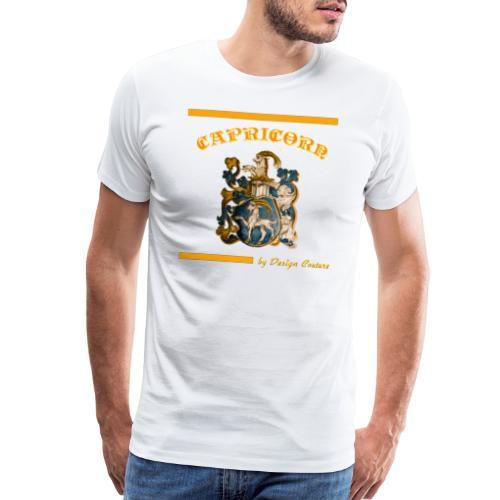 CAPRICORN ORANGE - Men's Premium T-Shirt