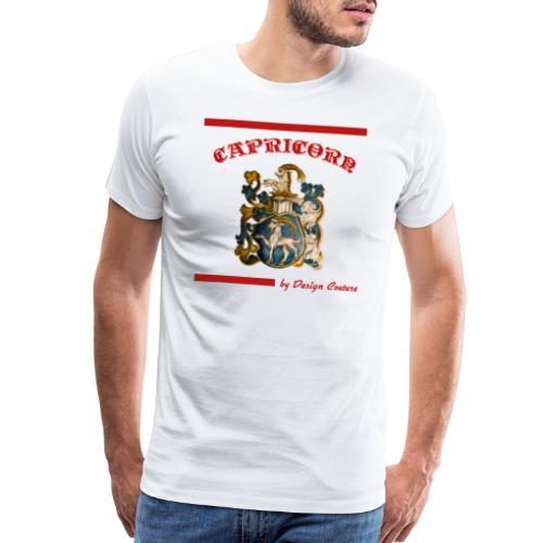 CAPRICORN RED - Men's Premium T-Shirt