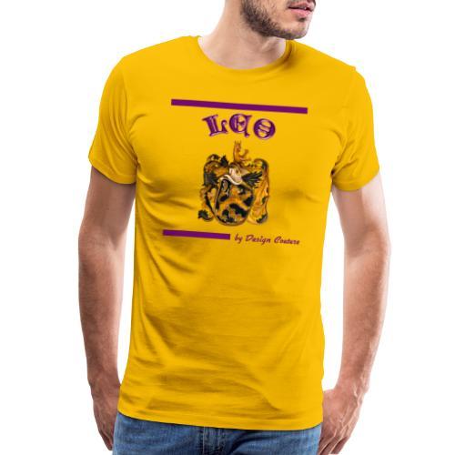 LEO PURPLE - Men's Premium T-Shirt
