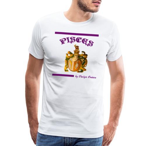 PISCES PURPLE - Men's Premium T-Shirt