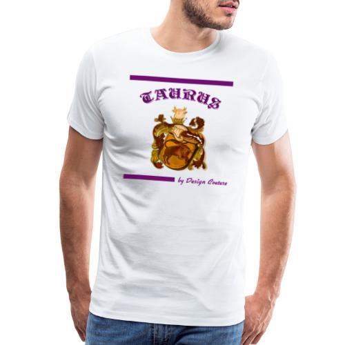 TAURUS PURPLE - Men's Premium T-Shirt