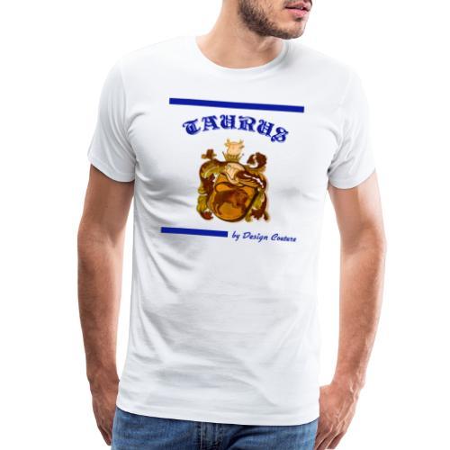 TAURUS BLUE - Men's Premium T-Shirt