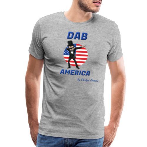 DAB AMERICA BLUE - Men's Premium T-Shirt