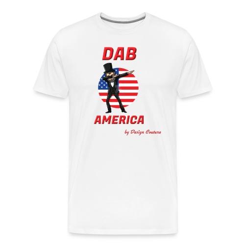 DAB AMERICA RED - Men's Premium T-Shirt