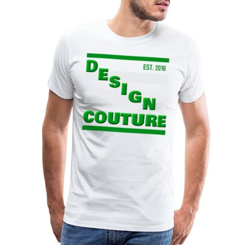DESIGN COUTURE EST 2016 GREEN - Men's Premium T-Shirt