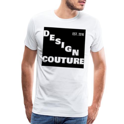 DESIGN COUTURE EST 2016 WHITE - Men's Premium T-Shirt