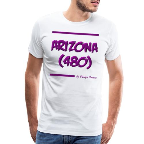 ARIZON 480 PURPLE - Men's Premium T-Shirt