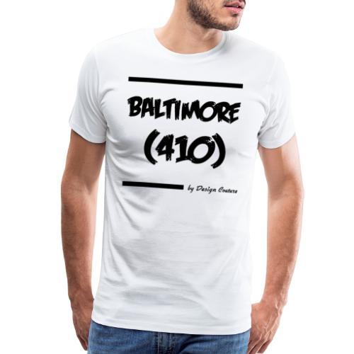 BALTIMORE 410 BLACK - Men's Premium T-Shirt