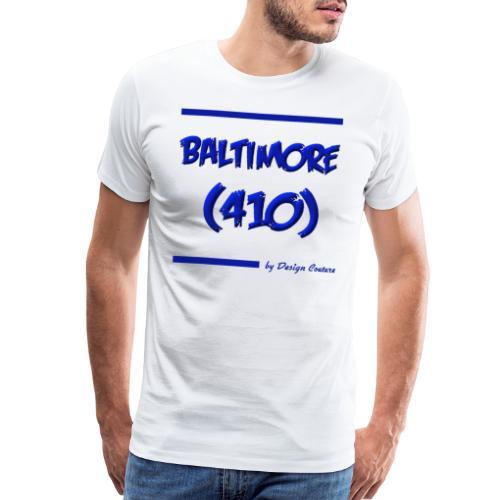 BALTIMORE 410 BLUE - Men's Premium T-Shirt