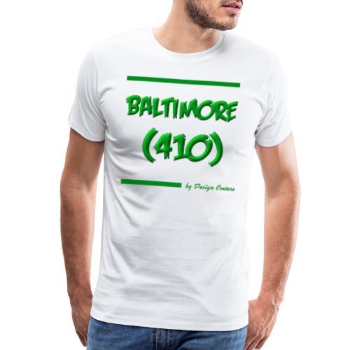 BALTIMORE 410 GREEN - Men's Premium T-Shirt