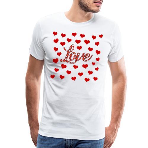 VALENTINES DAY GRAPHIC 3 - Men's Premium T-Shirt