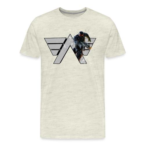 T shirt pop out png - Men's Premium T-Shirt