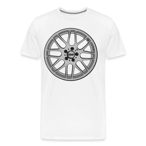 BBS M Wheel - Men's Premium T-Shirt