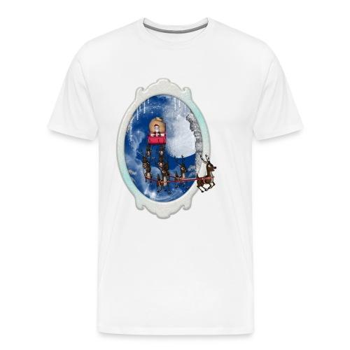 Santa Claus is comming - Men's Premium T-Shirt