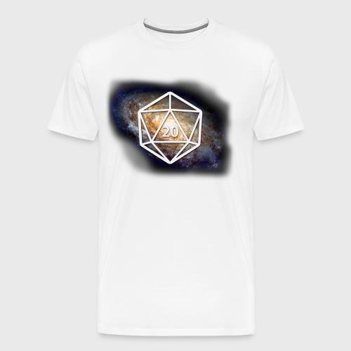 Geek Galaxy d20 - Men's Premium T-Shirt