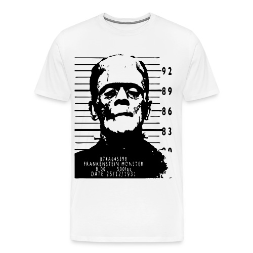 Frankenstein arrested - Men's Premium T-Shirt