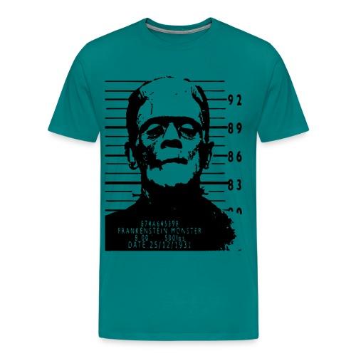 Frankenstein arrested - Men's Premium T-Shirt