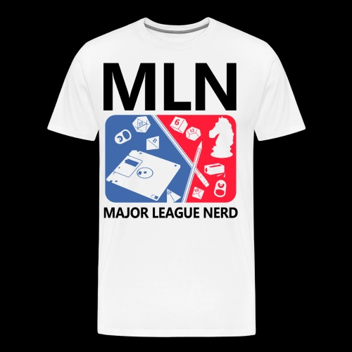 Major League Nerd - Men's Premium T-Shirt
