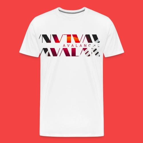Avalanche sun wave - Men's Premium T-Shirt