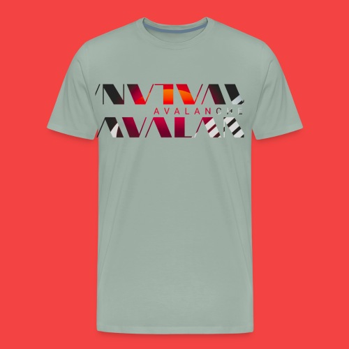 Avalanche sun wave - Men's Premium T-Shirt
