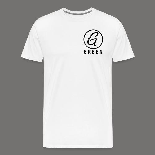 Green Circle Text png - Men's Premium T-Shirt