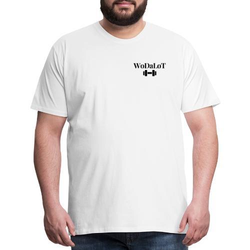 WoDaLoT black logo - Men's Premium T-Shirt