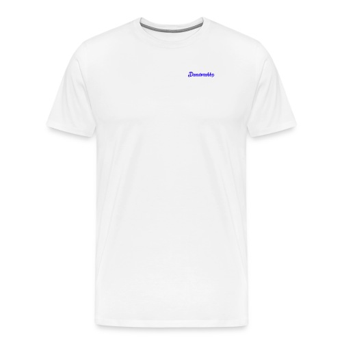 Logo Blue - Men's Premium T-Shirt