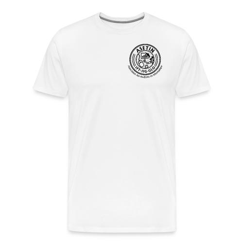 ASETIN LOGO FINAL HIGH RES png - Men's Premium T-Shirt