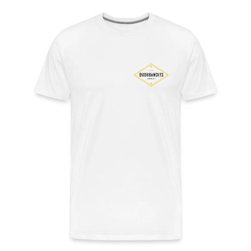 BushBandits White - Men's Premium T-Shirt