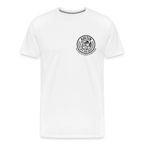 ASETIN LOGO FINAL HIGH RES png - Men's Premium T-Shirt